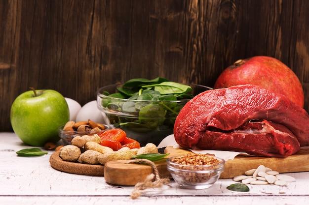 鉄分が豊富な健康商品