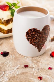バレンタインデーのコーヒー