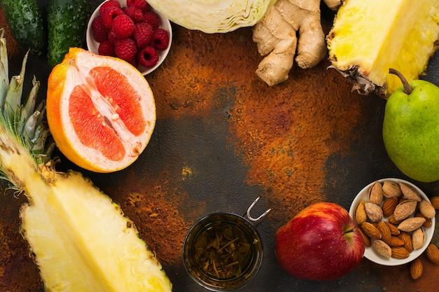 脂肪燃焼のための健康食品