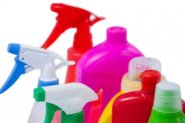 洗剤のボトルと容器