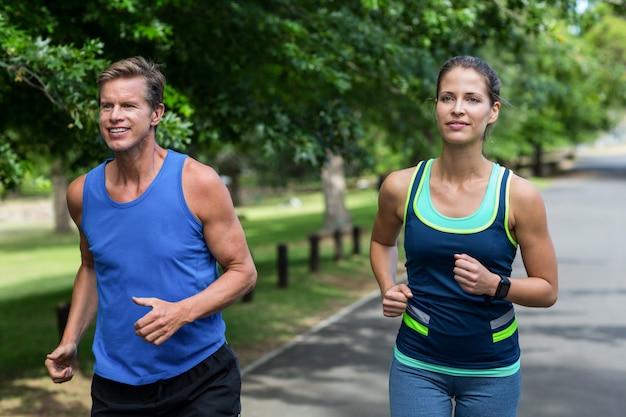 ランニングマラソン選手