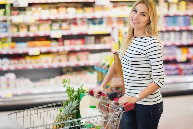 Портрет покупателя в супермаркете