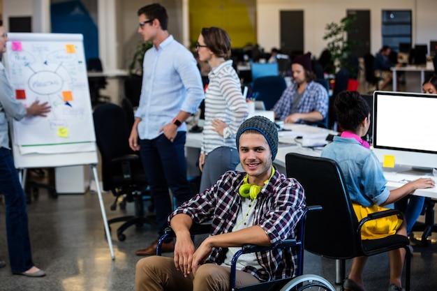 車椅子のデザイナー
