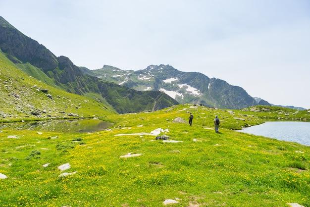 Поход по альпам по панорамной тропе