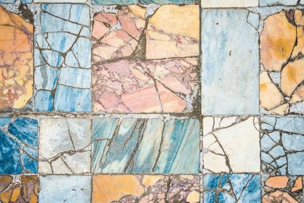 ローマの大理石の床の背景