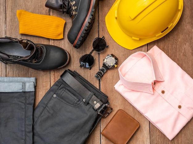Креативный дизайн одежды для мужчин, повседневная одежда, комплект