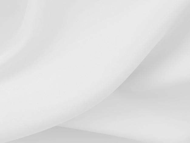 Белые одежды фон аннотация с мягкими волнами.