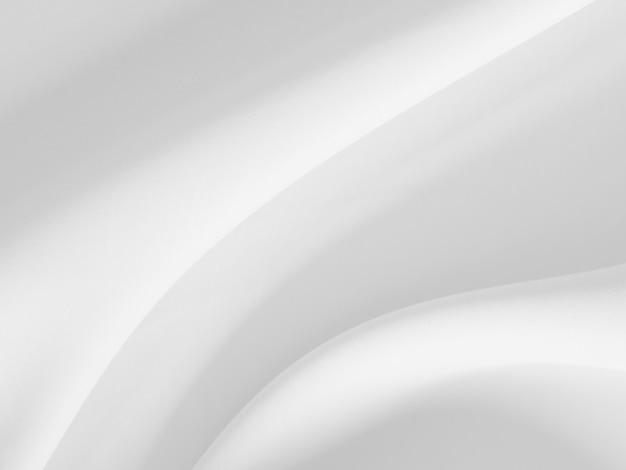 柔らかい波と白い服背景抽象。