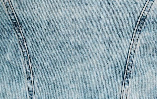 青いデニムのテクスチャ背景