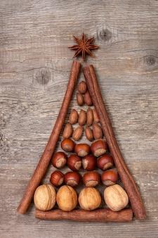 Рождественские специи и орехи
