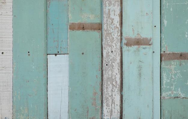 美しいビンテージブルー木製の背景