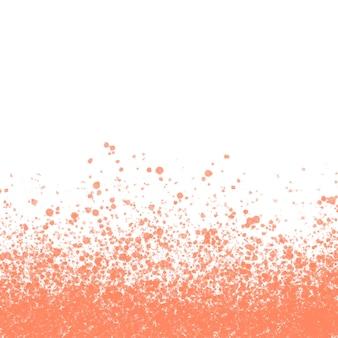 テキスト用のスペースと桃の水彩画の質感