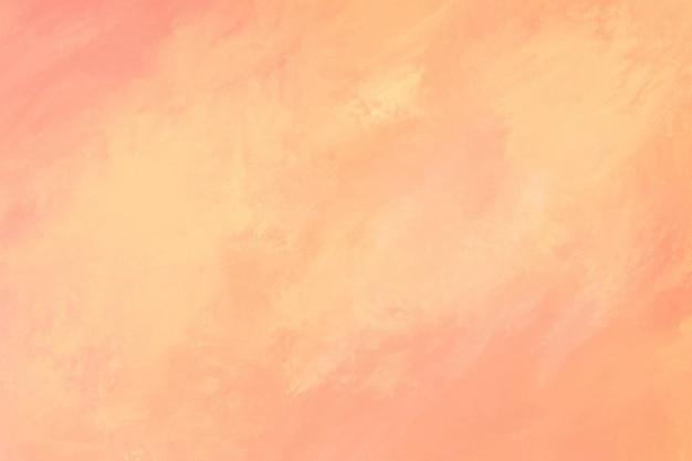 桃の水彩画のテクスチャ背景