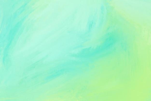 グリーンとライムの水彩テクスチャ背景