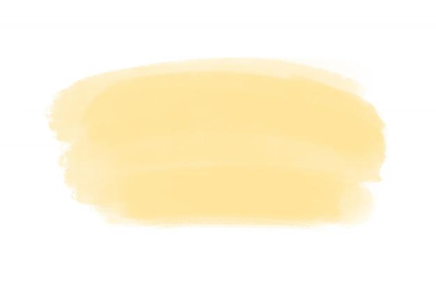水彩グランジブラシストローク