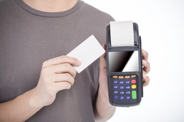 購入デジタルビジネスチップ人間
