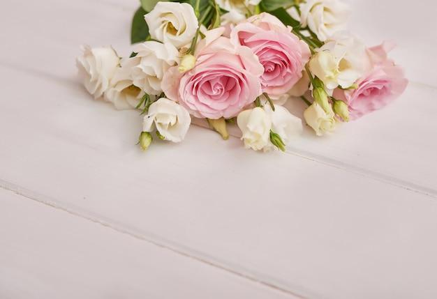白い背景の上の花