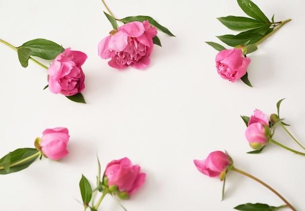 牡丹の花の束