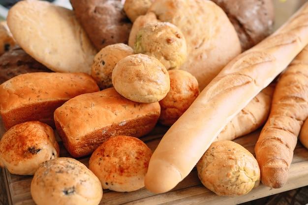 Разнообразие хлеба.