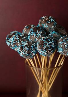 Шоколадный торт поп