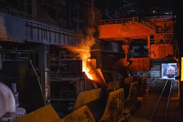 Выплавка металла в литейном производстве