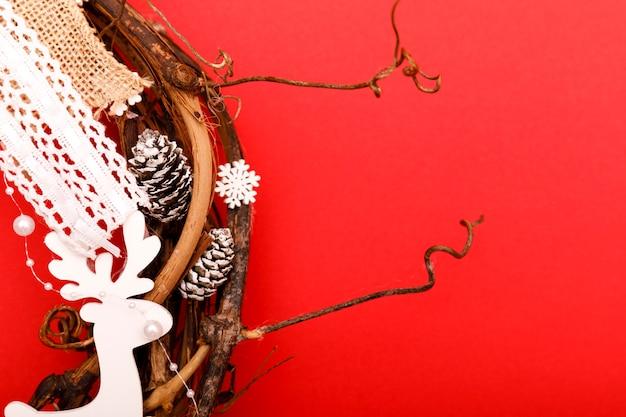 アドベントまたはクリスマスリース