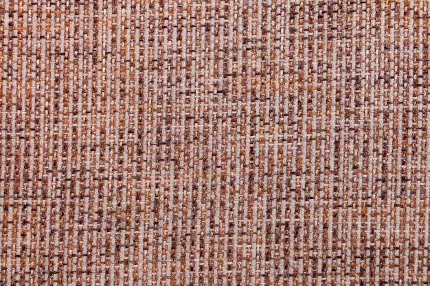 生地のテクスチャ。亜麻繊維の背景