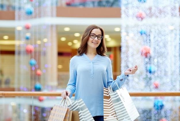 陽気な買い物客