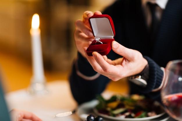 婚約者のためのリング