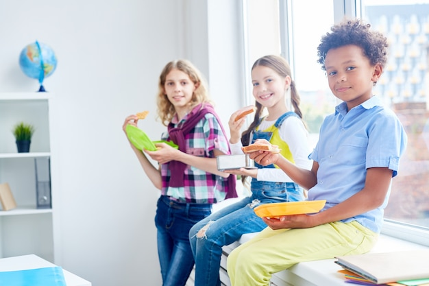 Еда после урока