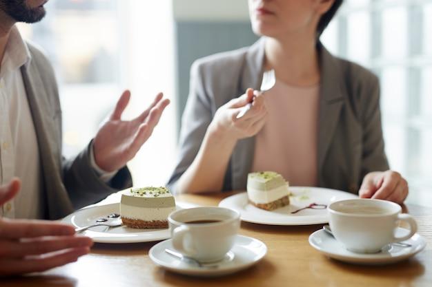 Разговор на десерт