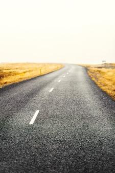 Дорога в сельской местности