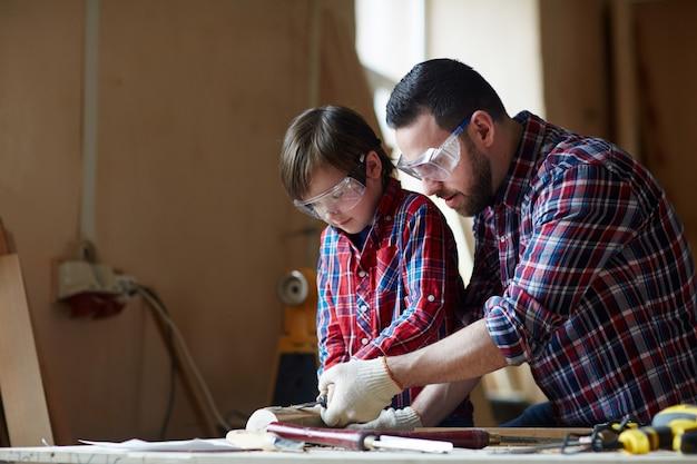 木彫りトレーニング