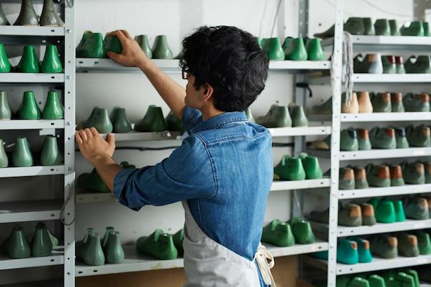 靴作りの達人