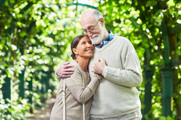 Любовь пожилых людей