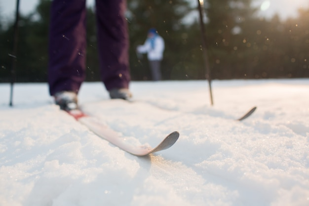 雪上スキー