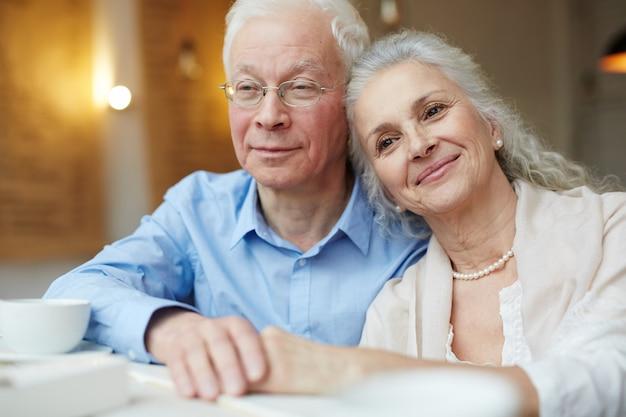 Вышедшие на пенсию супруги