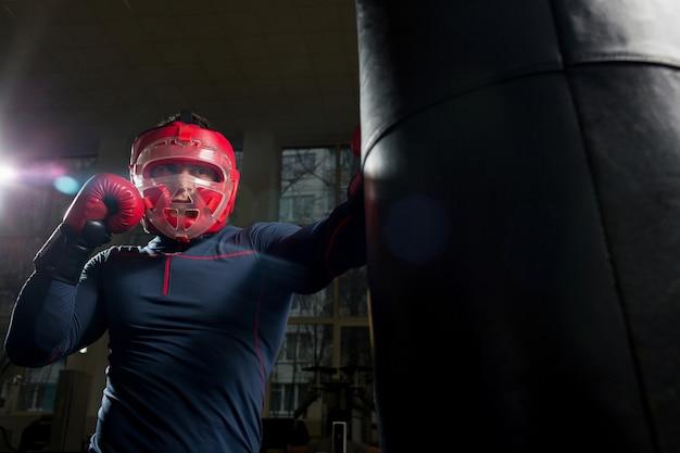 Бокс в тренажерном зале
