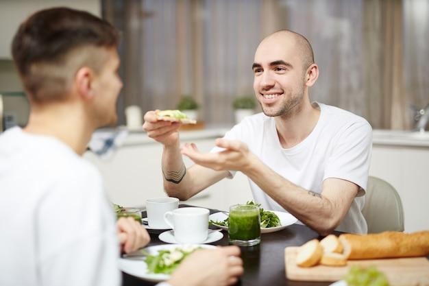 Завтрак вегетарианцев