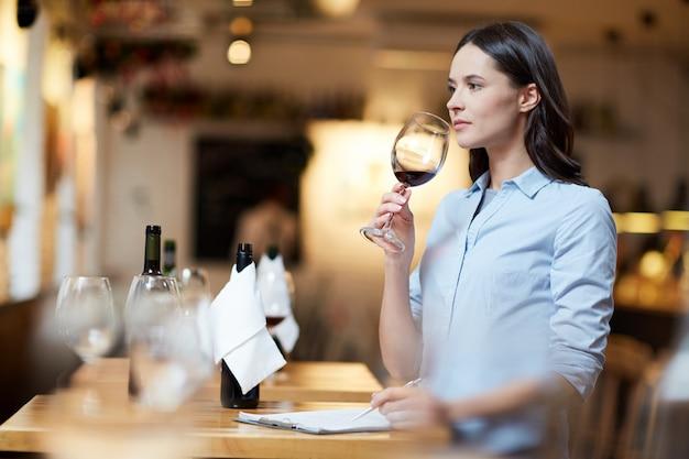 種類のワインの比較