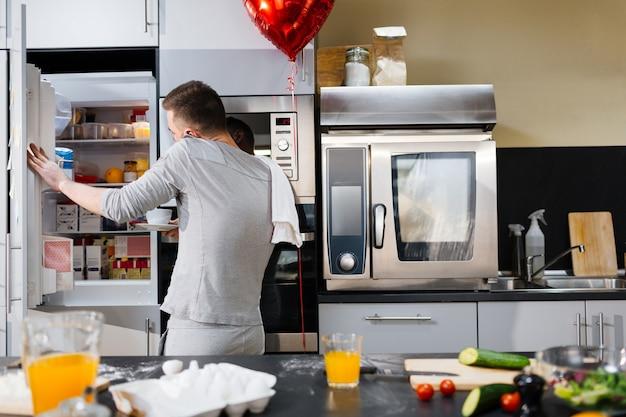 キッチンの朝