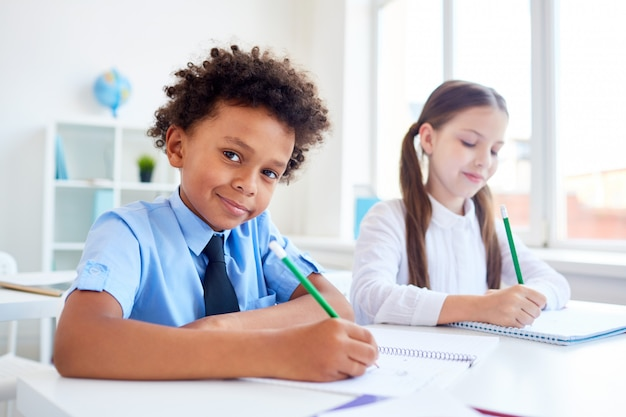 同級生の描画
