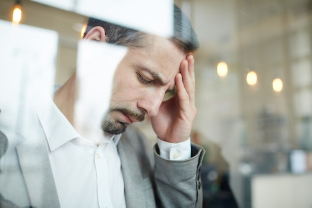 Утомленный человек