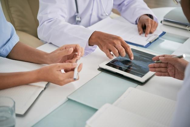 Обсуждая рентген грудной клетки