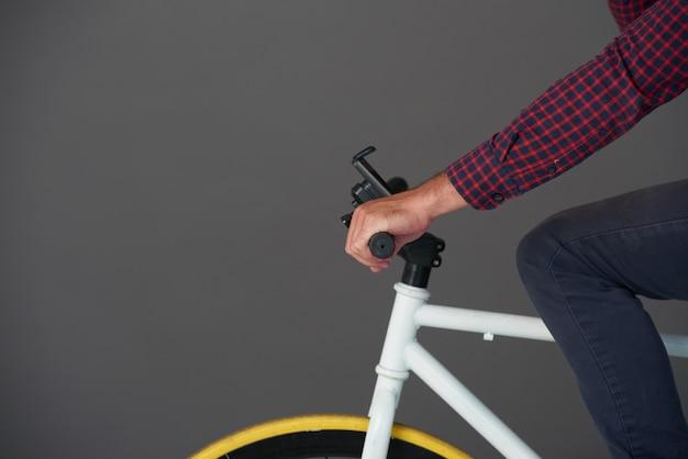サイクリング男