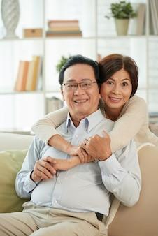 Счастливая пара старших