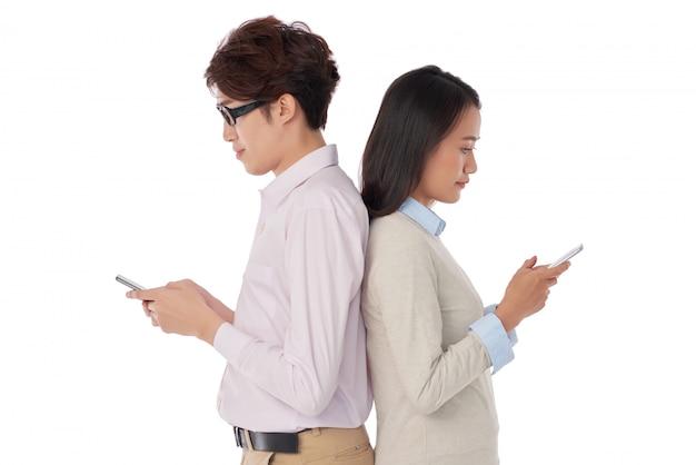 Текстовые сообщения людей