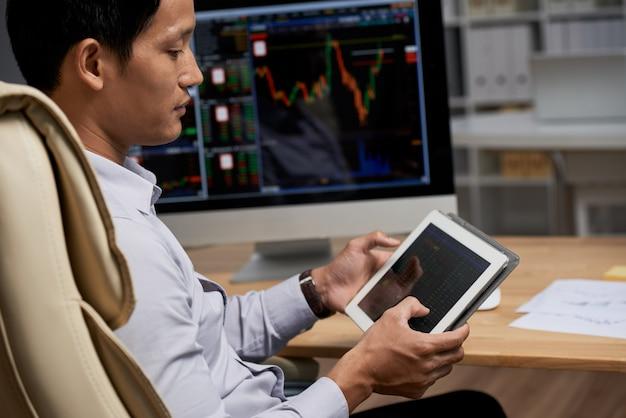 Чтение данных фондового рынка