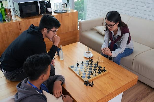 チェスのゲーム