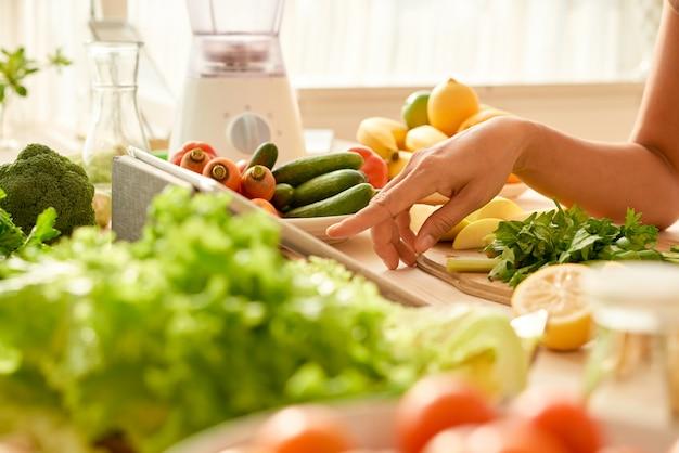 Использование кулинарного приложения